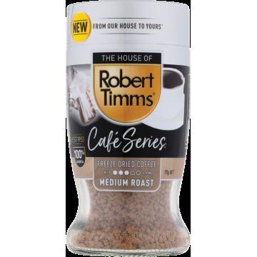 Robert Timms Café Series 90g Soluble 100% Arabica Coffee (Medium Roast)
