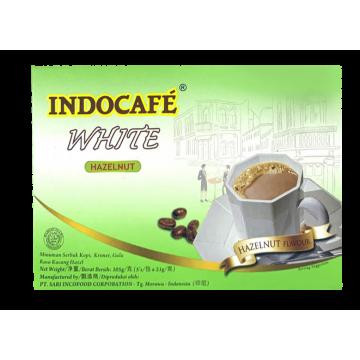 IndoCafe White Coffee Hazelnut 5's