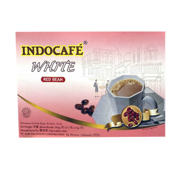 IndoCafe White Coffee Red Bean 5's