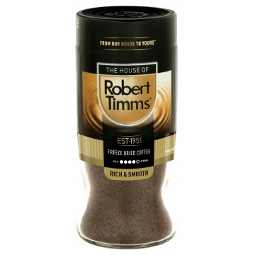 Robert Timms Freeze Dried Instant Coffee 100g