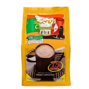 IndoCafe Cappucino 5-in-1 15's