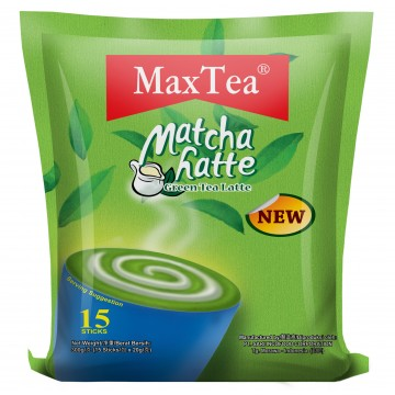 MaxTea Matcha Latte (Green Tea) 15's