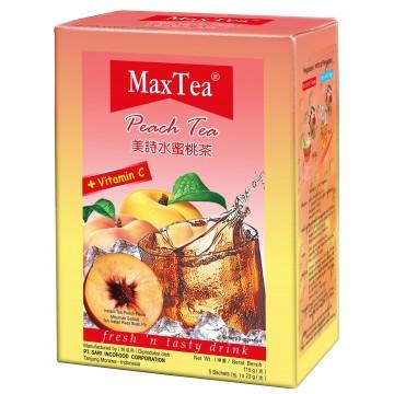 MaxTea Peach Tea 5's
