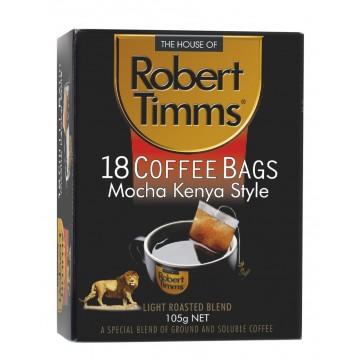 Robert Timms Mocha Kenya Coffee Bags 18's
