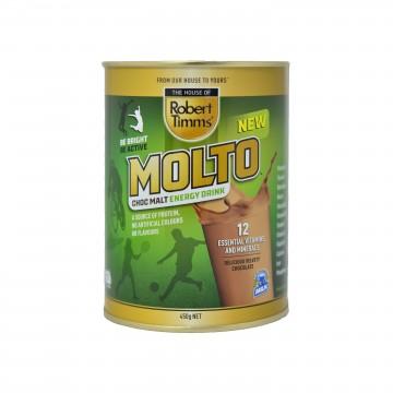 Robert Timms Molto Choc Malt Drink 450g